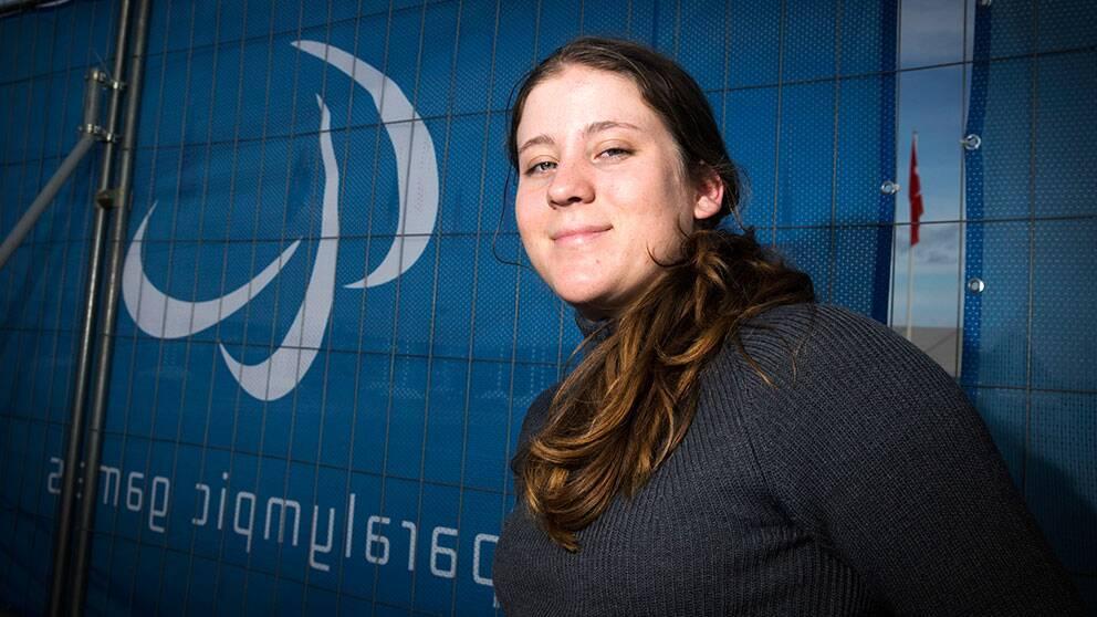 Linnéa Ottosson Eide är enda svenska alpina deltagaren i Paralympics i Sotji.