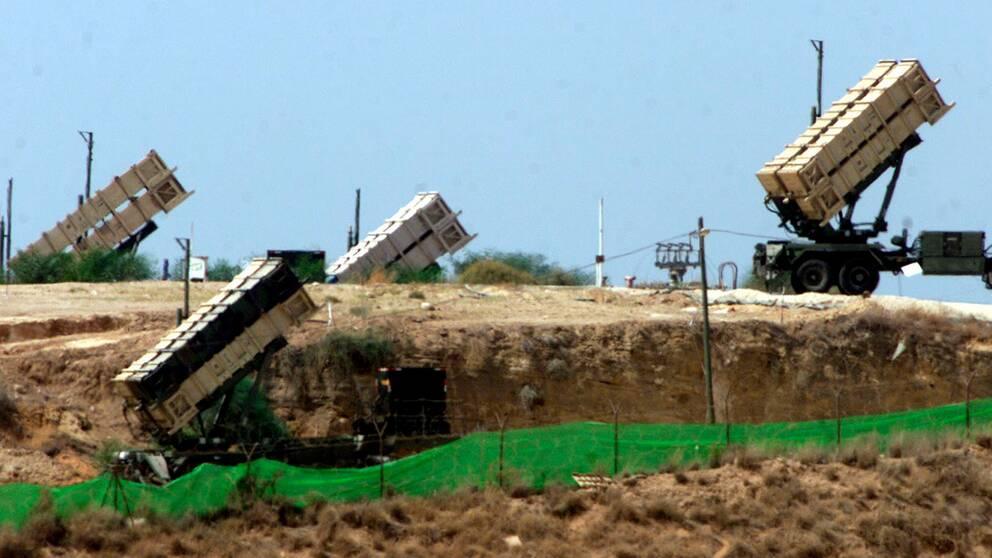Israeliskt luftvärn.
