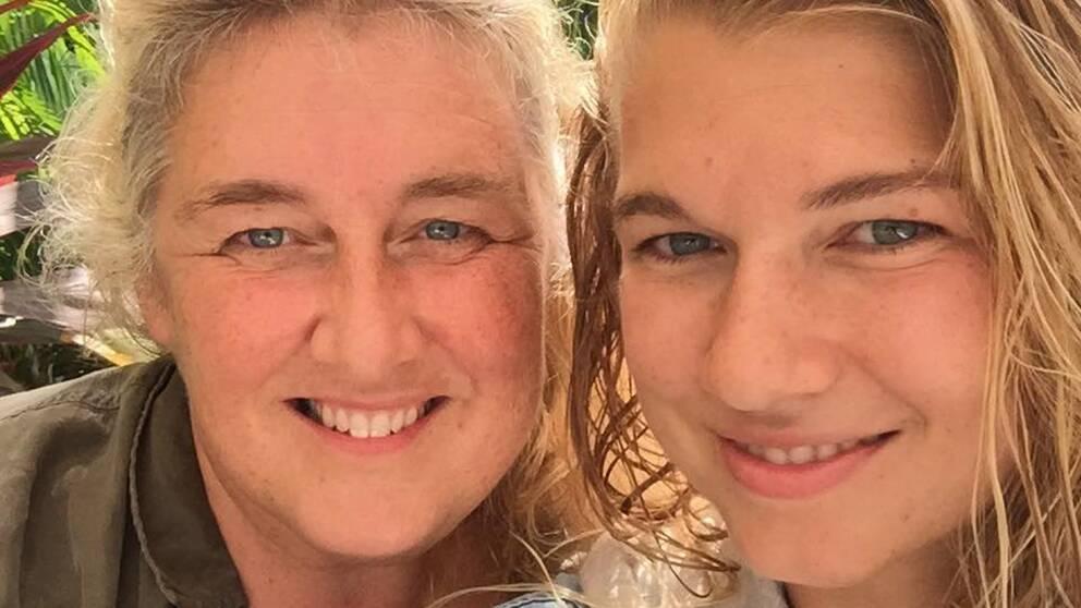 Lotta Bäckström, 51, och hennes dotter Cecilia Bäckström, 26.