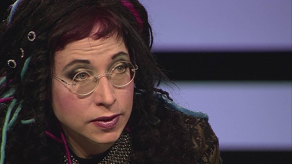 Författaren Sofi Oksanen i Agenda.