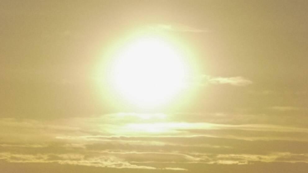 varmast i sverige idag
