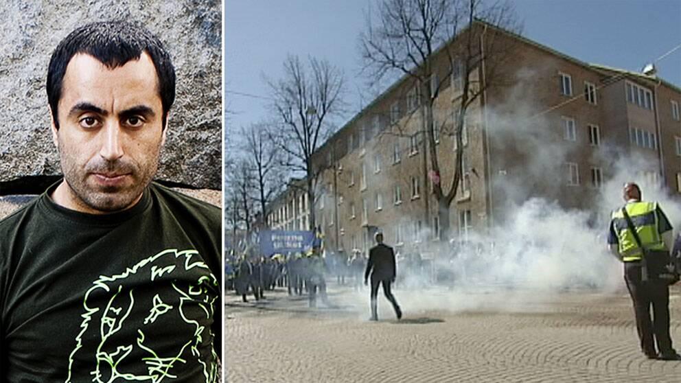Özz Nûjen riktar skarp kritik mot medias bevakning av mordförsöket i Malmö.