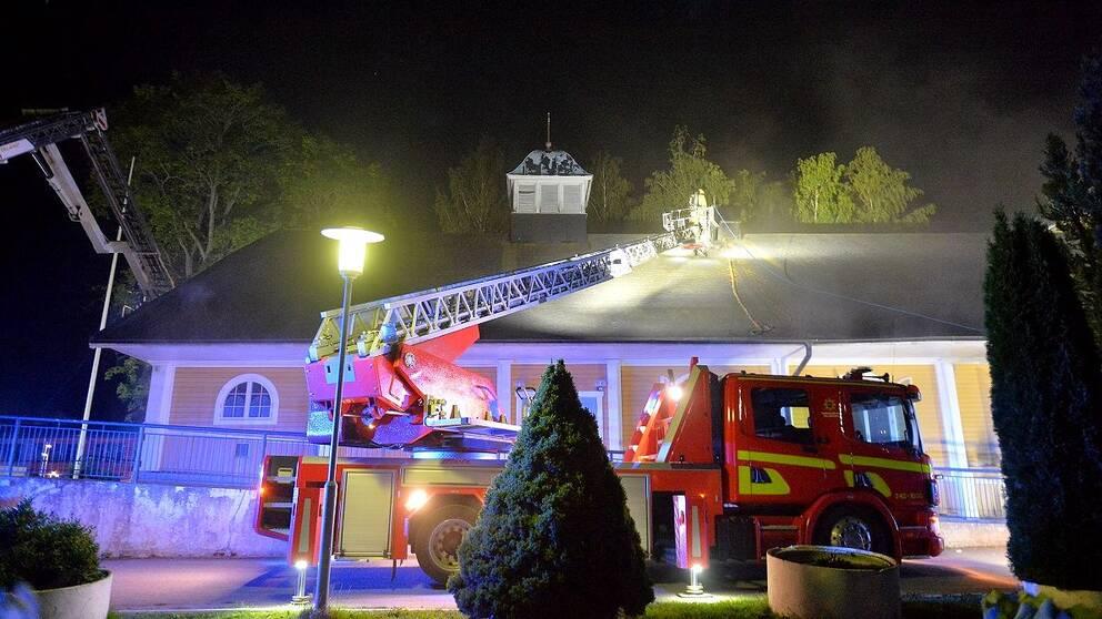 Brand i Sankta Maria ortodoxa kyrka i Norrköping
