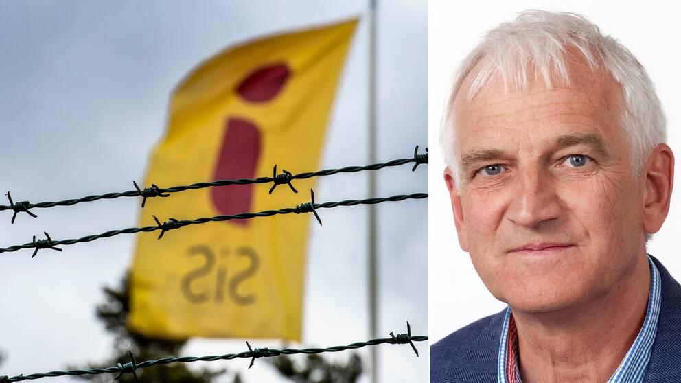 """""""Jag kan inte heller garantera eller utesluta att det kommer hända hos oss igen"""", säger Jan-Erik Josefsson, planeringsdirektör och ställföreträdande generaldirektör statens institutionsstyrelse. Till vänster en arkivbild från ett av SIS ungdomshem."""