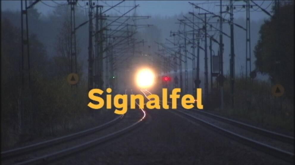 Störningar i tågtrafiken – stopp genom Teckomatorp
