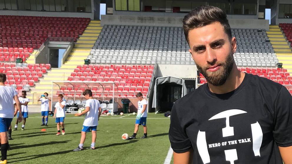 Fotbollsspelaren Nahir Oyal