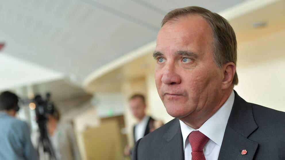 Foto på Stefan Löfven