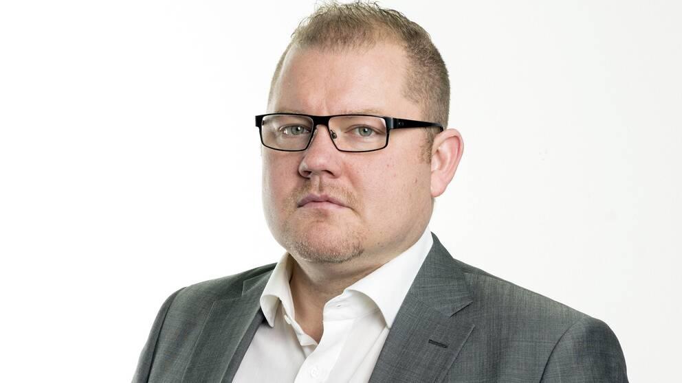 Anders Ingvarsson, chefredaktör på Mittmedia