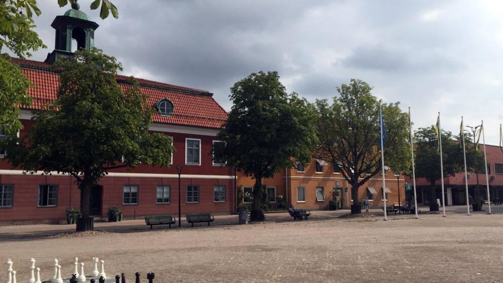 Sala kommun, rådhuset Sala, Stora torget Sala