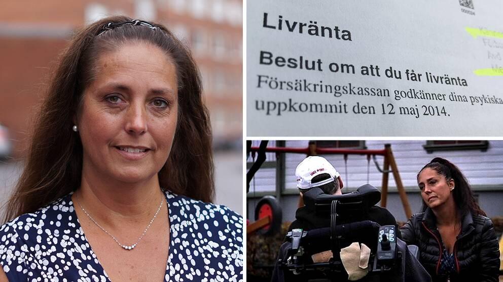 """Karin Johansson ser Försäkringskassans beslut som """"en upprättelse""""."""