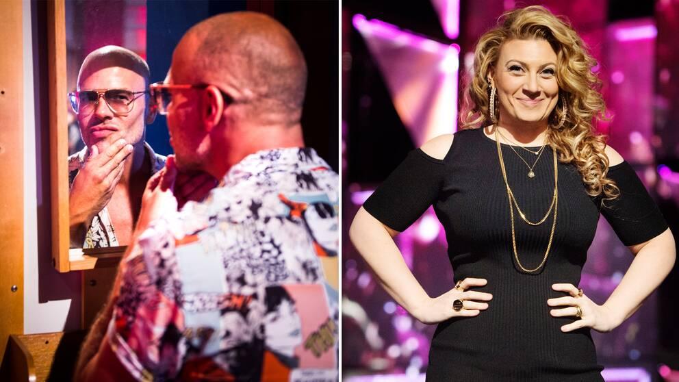 Artisterna Andreas Lundstedt och Sarah Dawn Finer är aktuella med varsin programserie på SVT i höst
