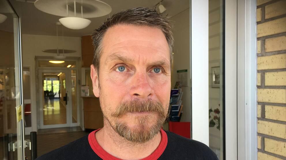 Robert Nilsson, skyddsombud i Helsingborg, fackförbundet Byggnads.