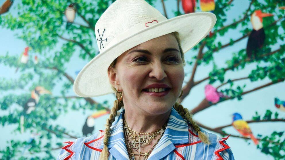 Madonna i juli 2018.