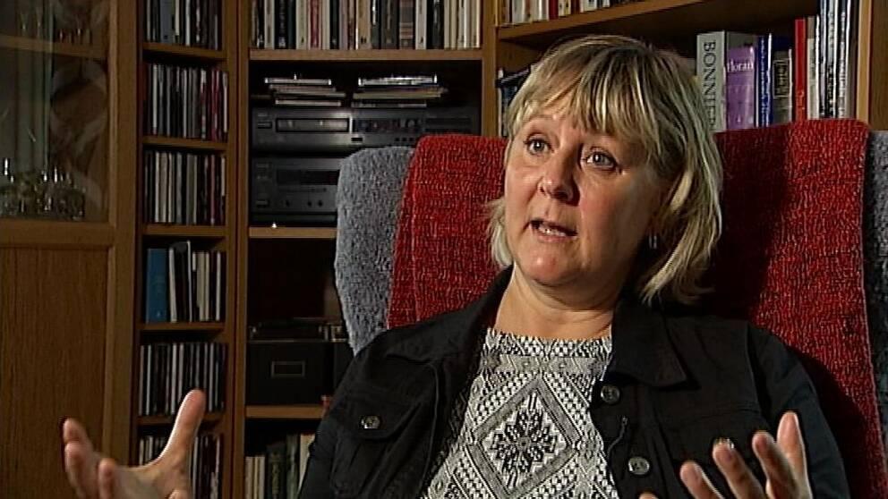 Charlotte Wåhlin forskar om nackproblem hos truckförare