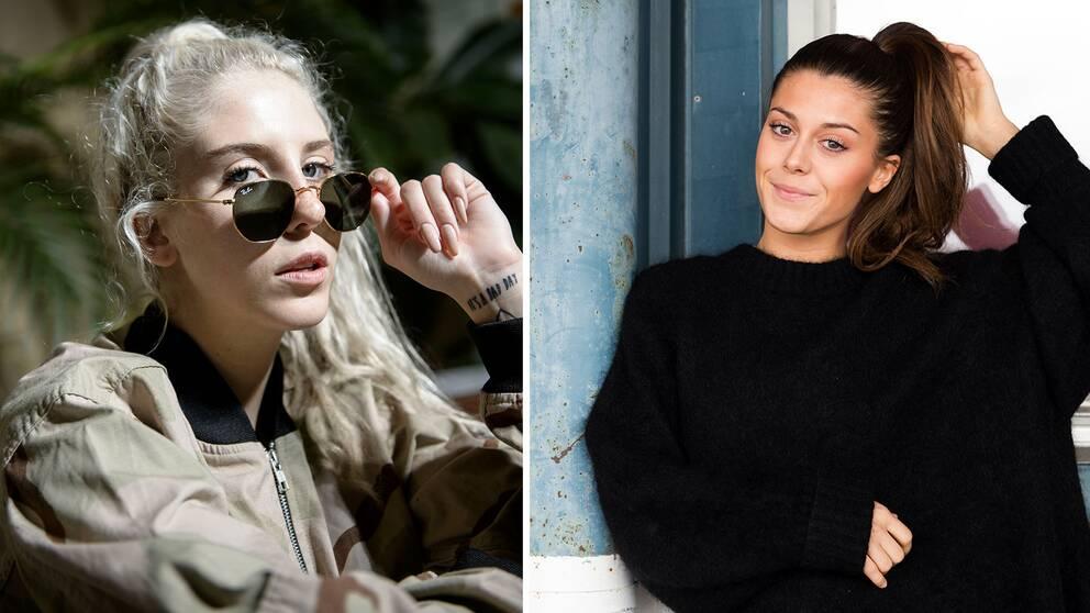 Peg Parnevik och Bianca Ingrosso är båda nominerade till årets tv-personlighet