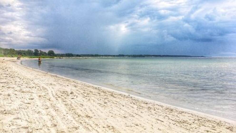 Gnisvärds strand, Gotland.