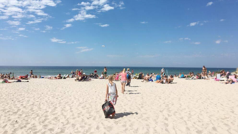 Tofta strand på Gotland