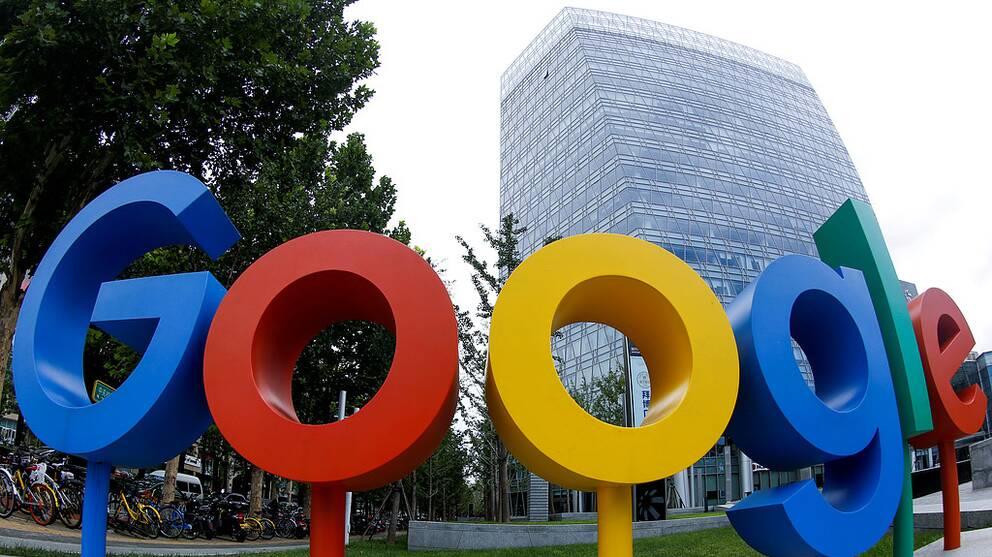 Googles kontor i Peking.