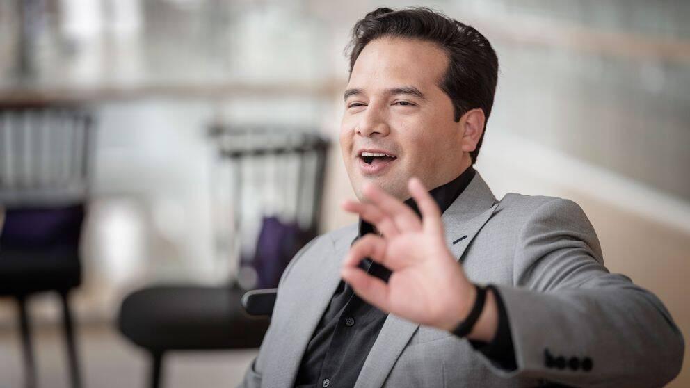 Malmö symfoniorkesters nya chefsdirigent Robert Trevino.