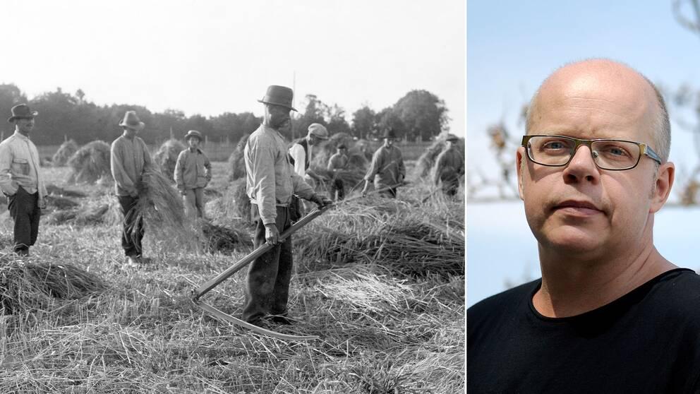 """""""Det fanns mat men den fördelades till de som kunde betala tillbaka, så maten nådde inte dem som verkligen behövde den"""", berättar författaren Magnus Västerbro."""