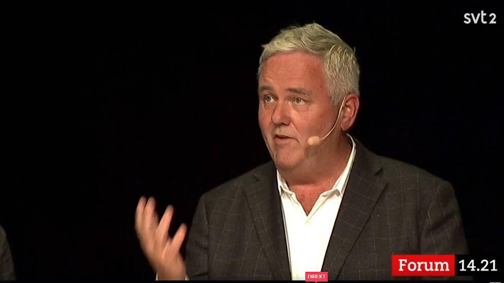 Centerpartiets Anders W Jonsson menade att den digitala tekniken är en möjlighet att säkra vårdkvalitén i glesbygden