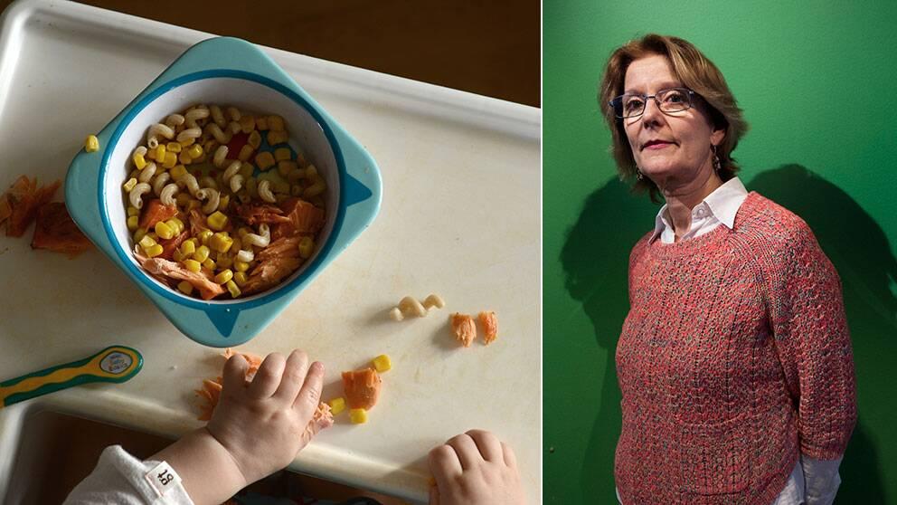 Ethel Forsberg, tidigare generaldirektör på Kemikalieinspektionen, säger att man ska äta ekologisk mat för att undvika farliga ämnen så gott det går.