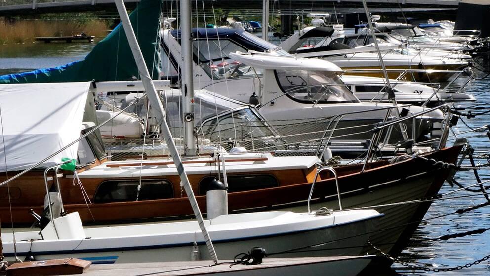 Flera båtar har drabbats av stölder.