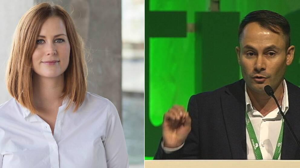 En bild på Emmyly Bönfors och Mikail Yüksel.