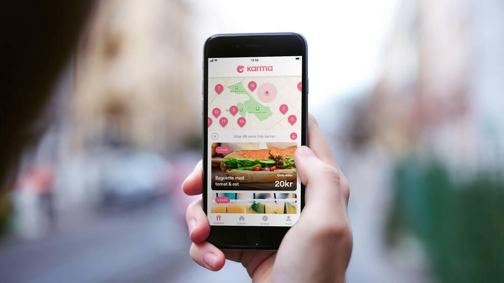 Miljöteknikföretaget Karma ska inom kort lansera sin app mot matsvinn i fler länder i Europa.