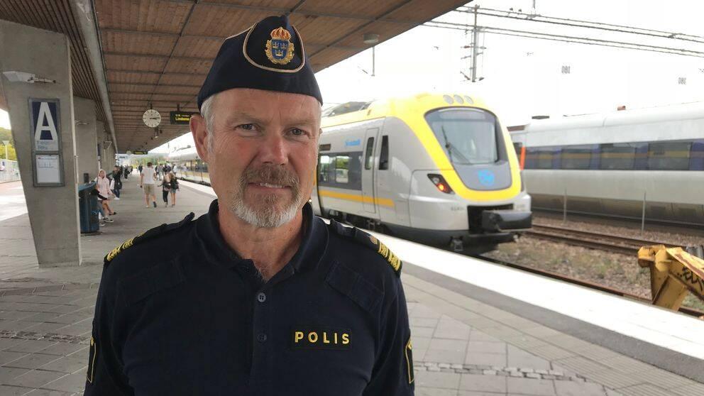 Anders Wiss är lokalpolisområdeschef i Kungsbacka.