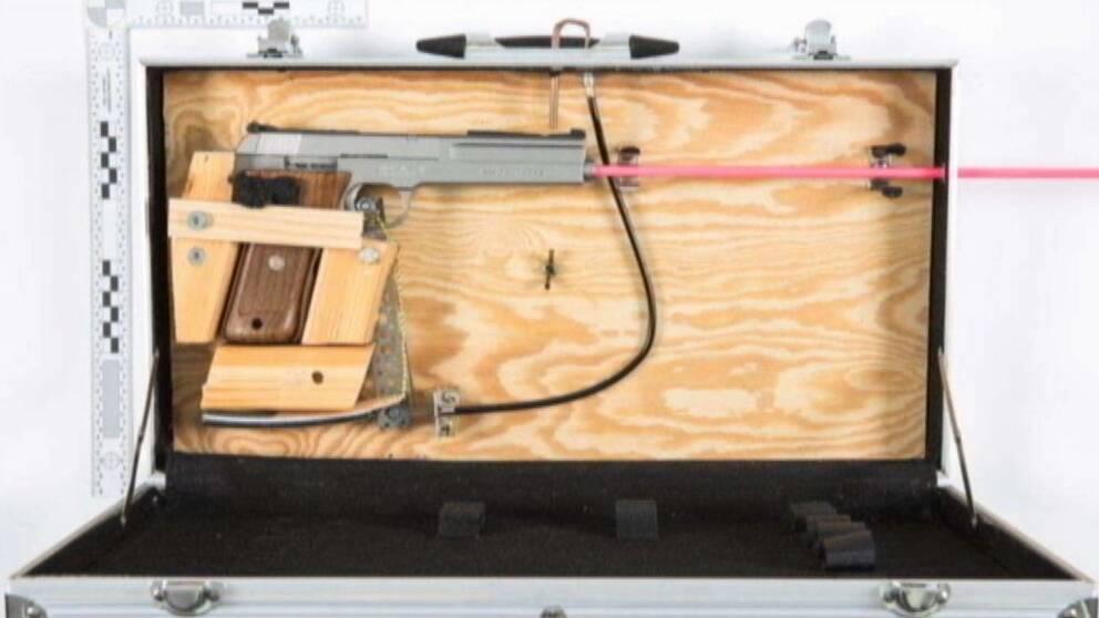 Sundsvallsnazistens hemmatillverkade lådvapen