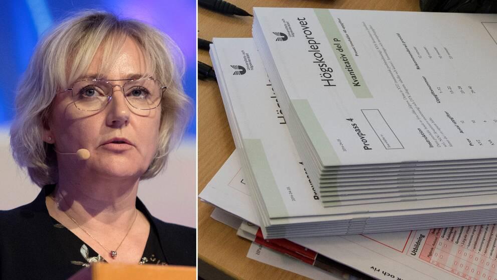 Högskoleminister Helene Hellmark Knutsson