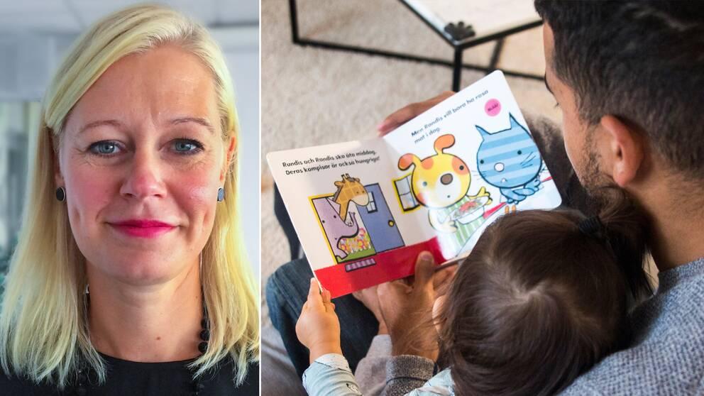 """""""Rent personligt tycker jag att det är tråkigt att kommunen inte kan ge det stöd som behövs för att de här barnen"""", säger Anna Bunninger (t.v), chef inom funktionshinderomsorgen i Jönköping."""