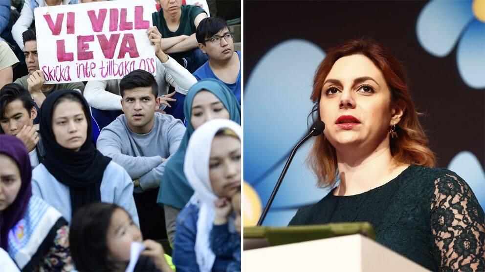 Sverigedemokraterna vill stoppa kvotflyktingar