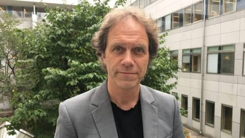 Den före detta SVT-meteorologen Pär Holmgren.