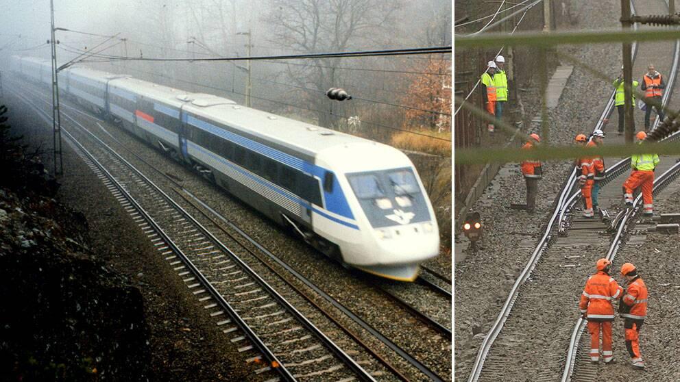 SVT Östnytt kan nu avslöja nya uppgifter om den stora tågurspårningen söder om Stockholm i början av januari, där ett poståg havererade. Det X2000-tåg som passerade olycksstället strax före haveriet fick alla hjul skadade och var bara millimetrar från en urspårning.