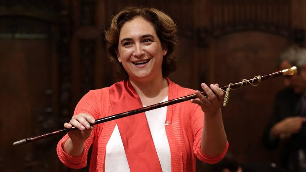 Barcelonas borgmästare Ada Colau valdes 2013 och har sedan dess försökt få kontroll på överturismen i staden.