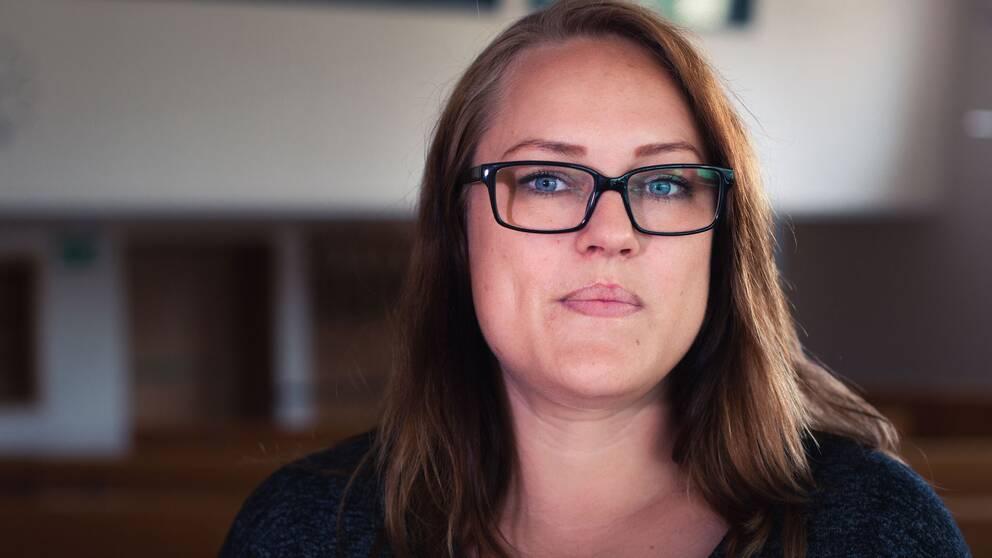 Lina Sjögren Vänsterpartiet politiker Södertälje