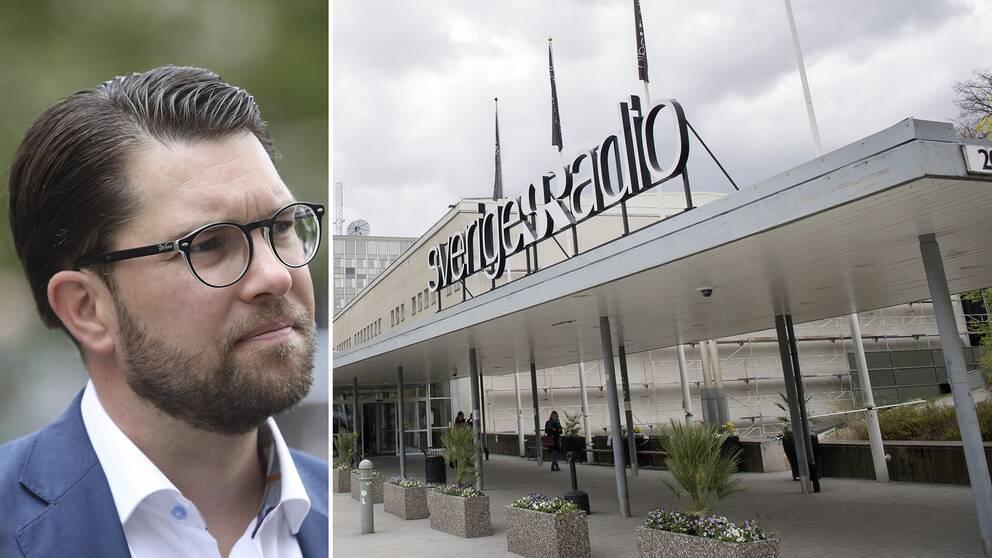 Sverigedemokraterna har svängt flera gånger i frågan om finansieringen för public service.