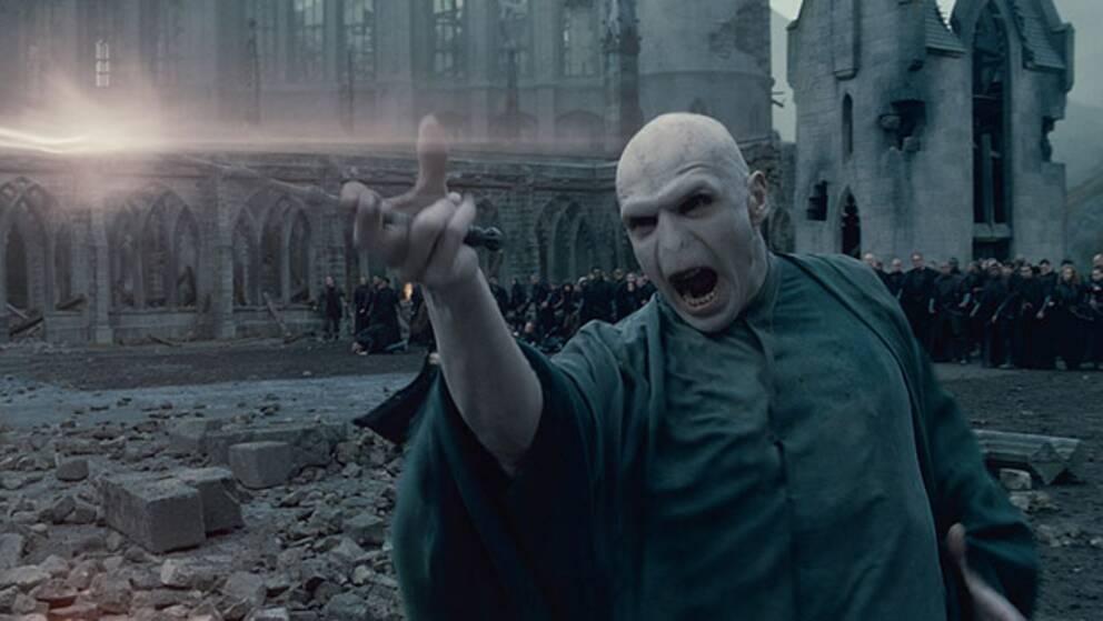 Ralph Fiennes i rollen som Voldemort.