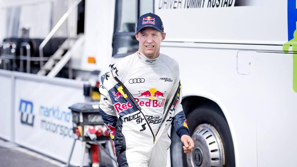 Rallycrossföraren Mattias Ekström.