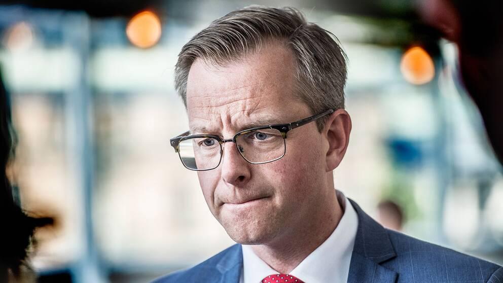 Näringsminister Mikael Damberg