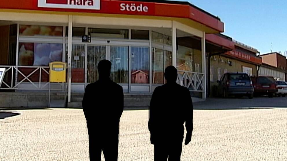 L-politiker ofredade av två aktivister vid kampanjmöte i Stöde.