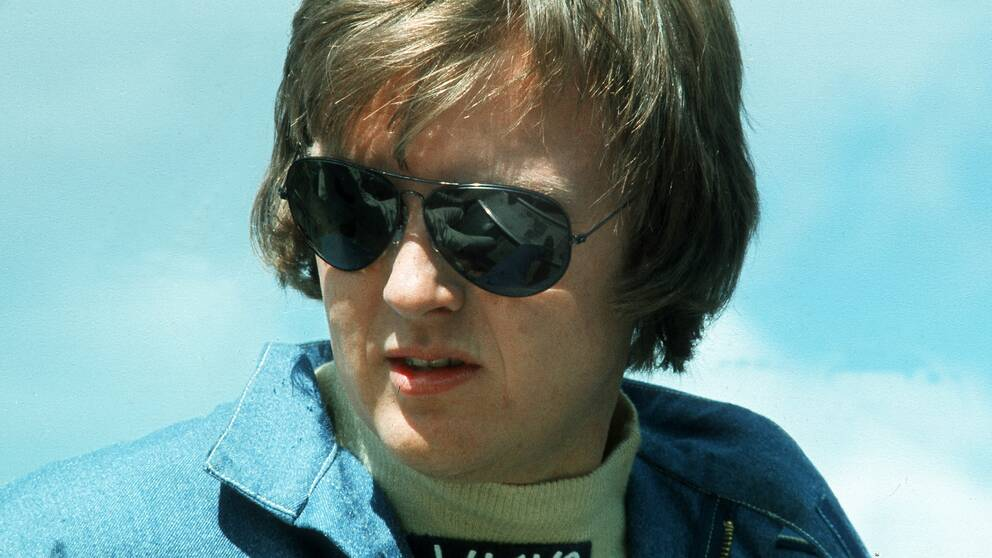 Ronnie Peterson på Anderstorp 1975