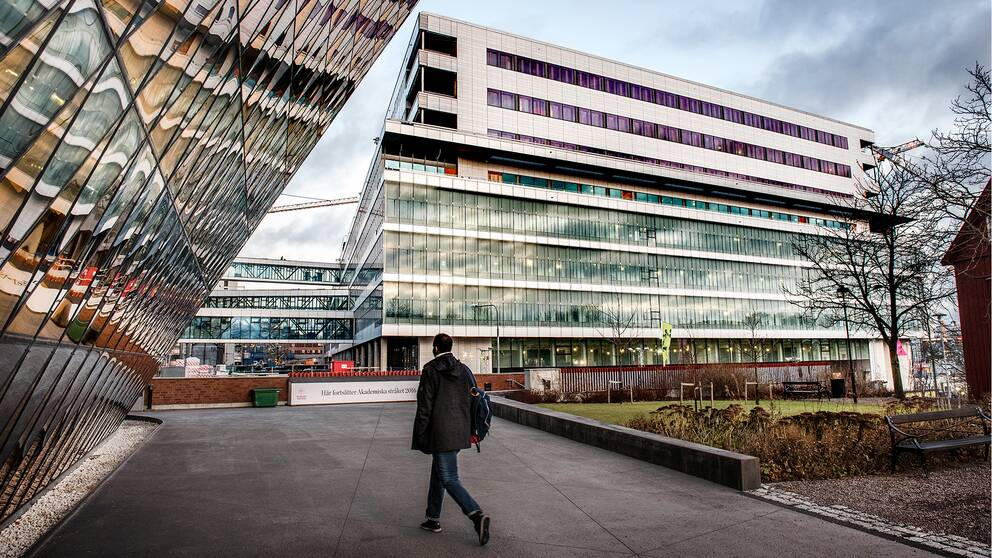 Bygget av Nya Karolinska sjukhuset i Solna, NKS.