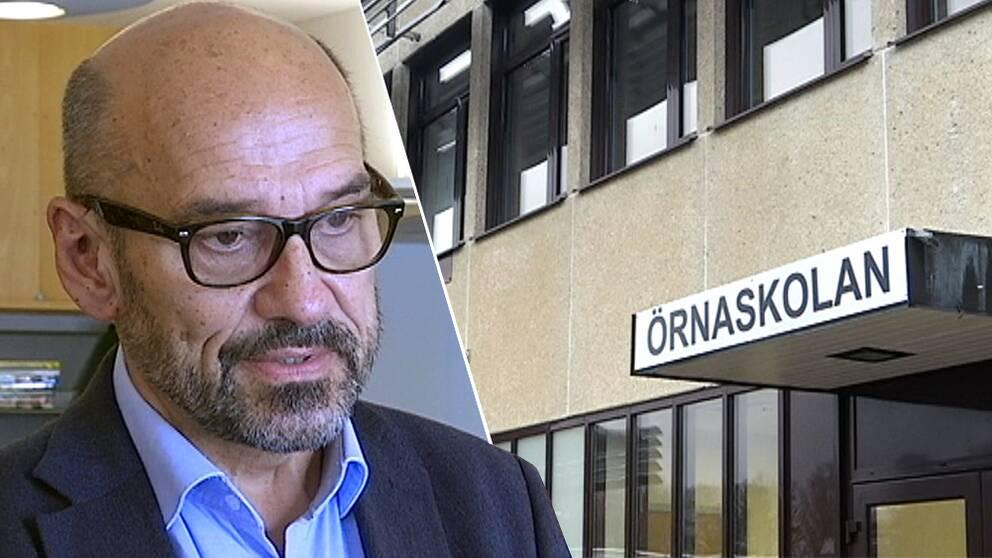 Per Henriksson, rektor på Örnaskolan