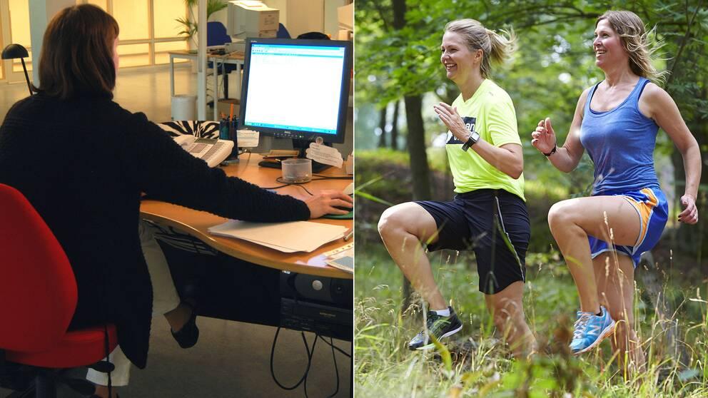 Vår vardag innehåller för lite vardagsmotion och vi rör oss mindre på grund av stillasittande jobb, menar experter.