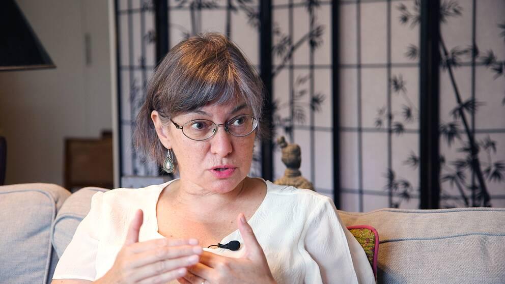 Psykologen och författaren Liria Ortiz.