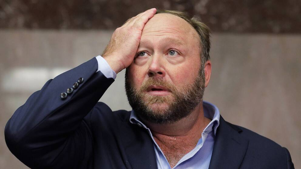 Infowars grundare Alex Jones