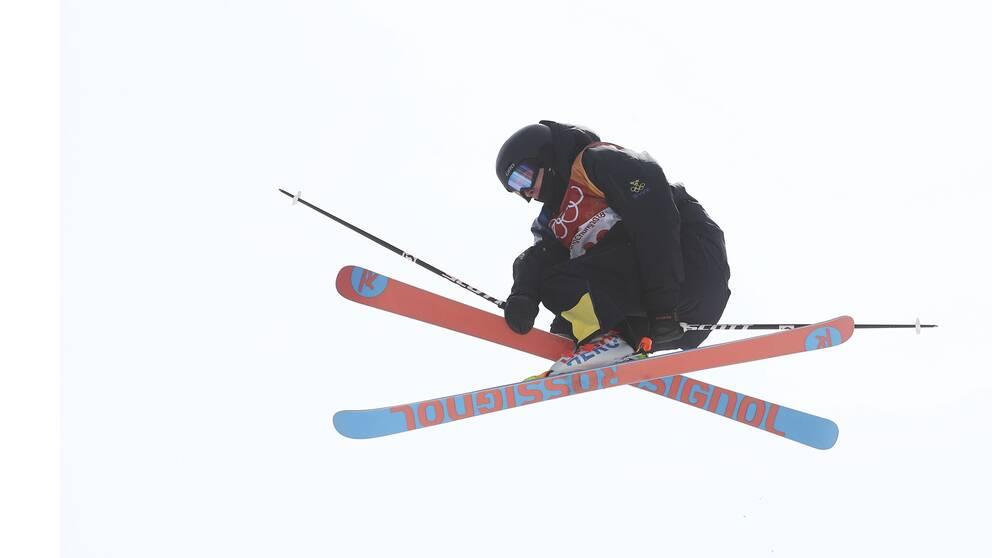 Oliwer Magnusson slutade sjua i finalen.